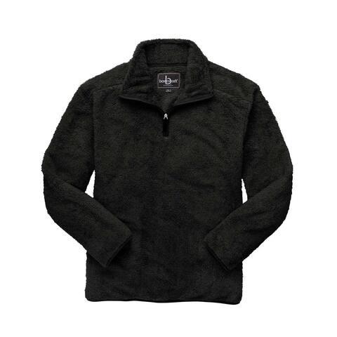 Boxercraft - Fuzzy Fleece Quarter Zip Pullover