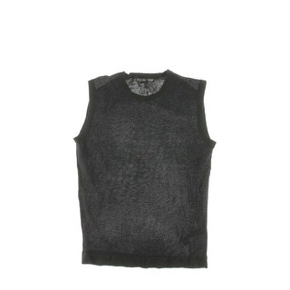 Zara Mens Textured Stretch Tank Top - L