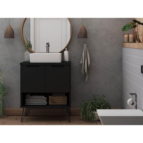 Manhattan Comfort Rockefeller 26.38 Bathroom Vanity Sink 2.0