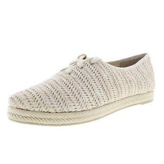Dolce Vita Womens Jacky Raffia Sneakers Oxfords