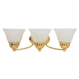 "Nuvo Lighting 60/350 Three Light Reversible Lighting 20.5"" Wide Bathroom Fixture from the Empire Collection"