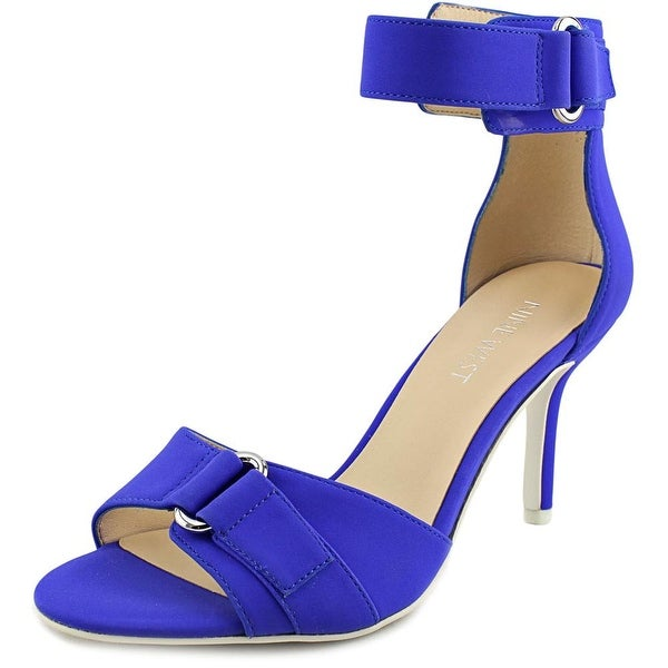 Nine West Gainey Women  Open Toe Synthetic Blue Sandals