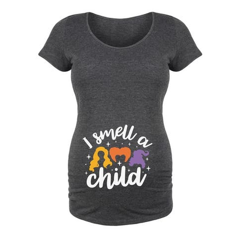 I Smell A Child - Maternity Scoop Neck Tee
