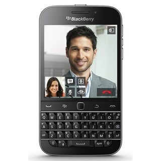 Blackberry Classic SQC100-2 AT&T Unlocked 4G LTE BlackBerry OS Phone w/ 8MP Camera - Black
