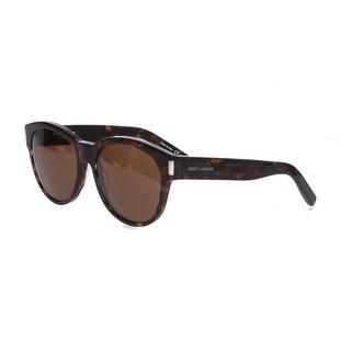 Saint Laurent SL67 Sunglasses in Havana