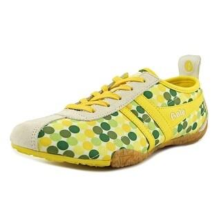 Gola Candy Women Round Toe Synthetic Yellow Running Shoe