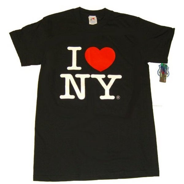 0abb86e82 Shop I Love NY T-Shirt - Size: Adult Medium - Color: Black - Free Shipping  On Orders Over $45 - Overstock - 22992795