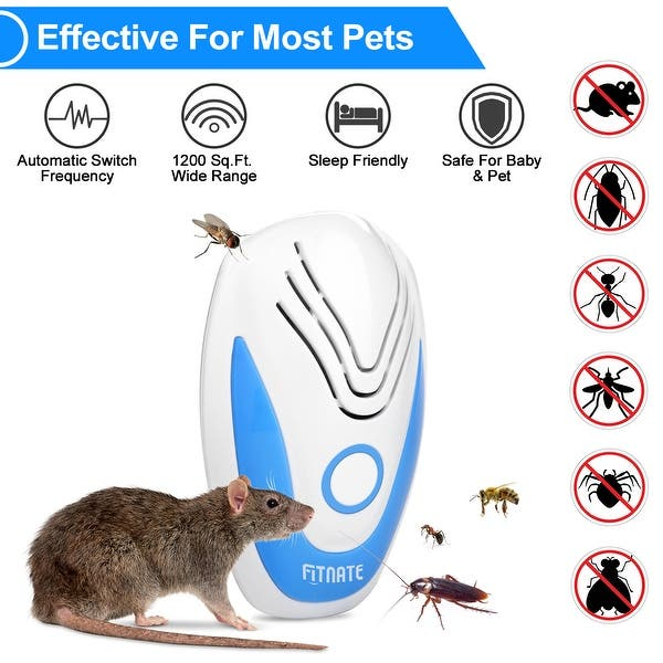 Pest Repeller Reject Ultrasonic Control Insect Mosquito Rat Mouse Electronic