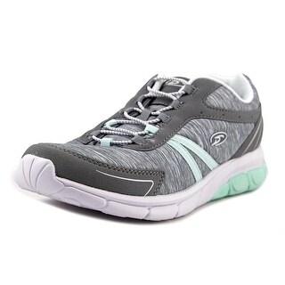 Dr. Scholl's Briliant Women Round Toe Canvas Gray Sneakers