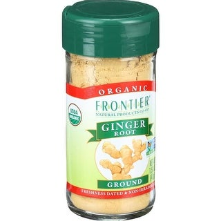Frontier Herb - Organic Ground Ginger Root ( 3 - 1.5 OZ)