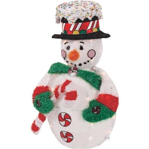 "Product Works/ Domes 32"" 2D P/L Snowman 50014 Unit: EACH"
