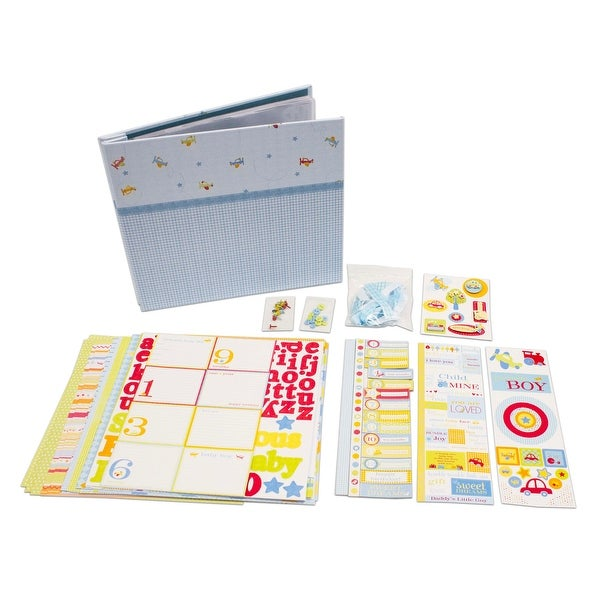 Deja Views Baby Collection Baby Boy Album Kit