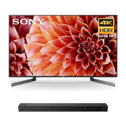 "Sony XBR-75X900F 75"" BRAVIA 4K Ultra HD HDR Smart TV with HT-ST5000 7.1.2ch 800W Dolby Atmos Sound Bar - Black"