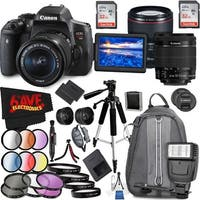 Canon EOS Rebel T6i DSLR Camera with 18-55mm Lens (Intl Model) and Canon EF 85mm f/1.4L IS USM Lens