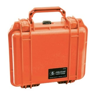 PELICAN PLO1200150O Pelican 1200 Case with Foam for Camera Orange