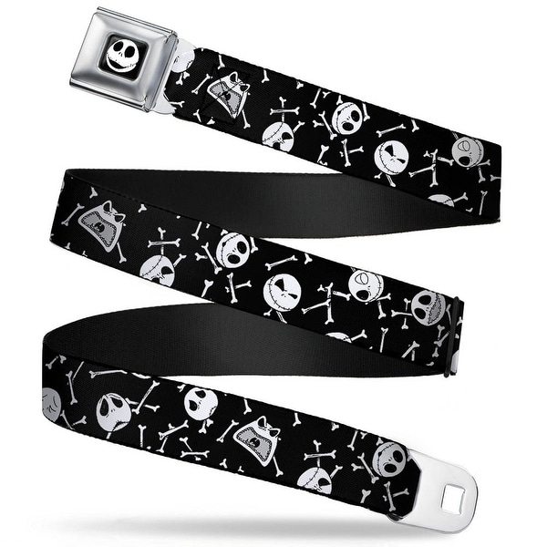 Jack Expression7 Full Color Nightmare Before Christmas Jack Expressions Seatbelt Belt
