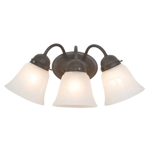 The Buttercup Collection Vanity Light - 7.25 x 17 x 8.0 - 7.25 x 17 x 8.0