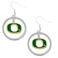 Oregon Ducks Hoop Logo Earring Set NCAA Charm