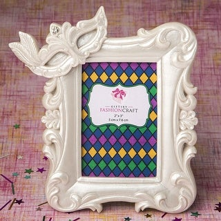 Mardi Gras Masked Theme Picture / Placecard Frame