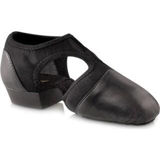 Capezio Dance Girls' Pedini Femme PP323C Black
