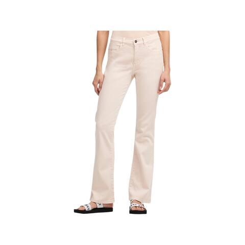 DKNY Womens Flare Jeans Skinny High Rise