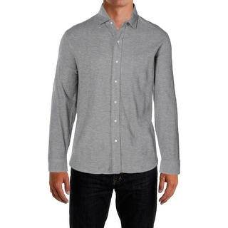 Polo Ralph Lauren Mens Button-Down Shirt Jacquard Long Sleeve