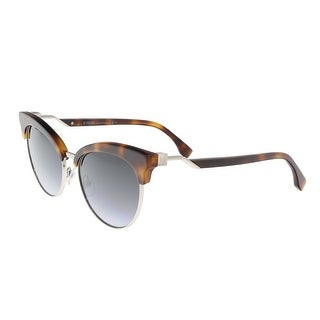 Fendi FF 0229/S 86 Dark Havana Eyewear Sunglasses - Dark Havana - 55-18-140