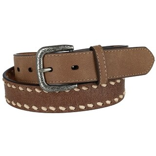 G Bar D Kids Leather Belt with Lacing