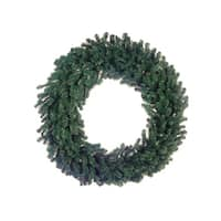 8' Deluxe Windsor Pine Commercial Size Artificial Christmas Wreath - Unlit