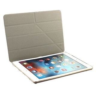 White PU Leather Foldable Protect Shell Cover Case for iPad Pro 9.7 Inch