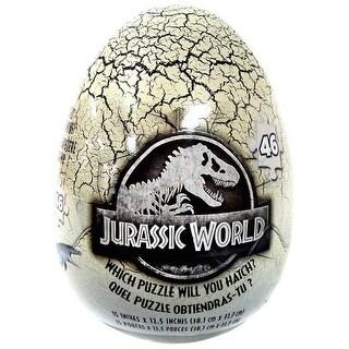 Spinmaster Cardinal Jurassic World 46 PC Mystery puzzle in Dinosaur Egg