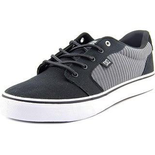 DC Shoes Anvil TX SE Men Round Toe Canvas Black Skate Shoe