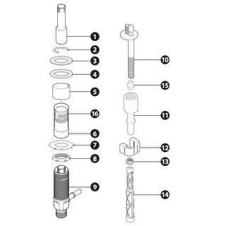 Moen 175709 Lavatory Faucet Extension Kit