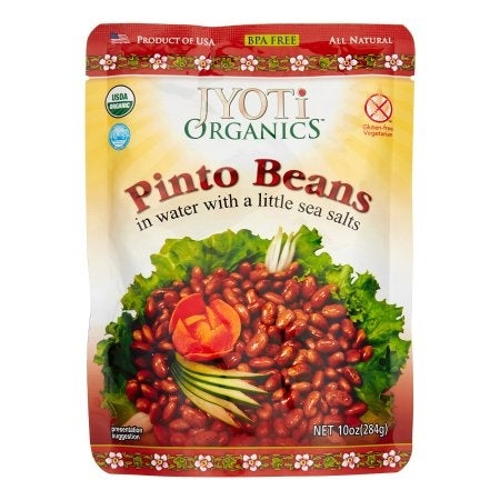 Jyoti Cuisine India Pinto Beans - Case of 6 - 10 oz.