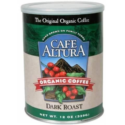 Cafe Altura - Dark Roast Ground Coffee ( 6 - 12 OZ)