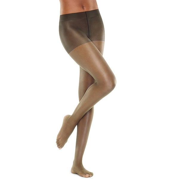 b84a4e52683 Hanes Perfect Nudes™ Run Resistant Tummy Control Girl Short Hosiery - Size  - 5