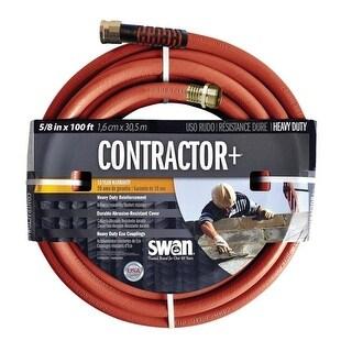 """Swan SNCG58100 Contractor Garden Hose, 5/8"""" x 100'"""