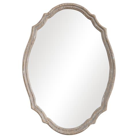 Natural Wood Wall Mirror