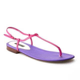 Dolce & Gabbana Women's T-Strap Sandal Shoes Purple Pink (4 options available)