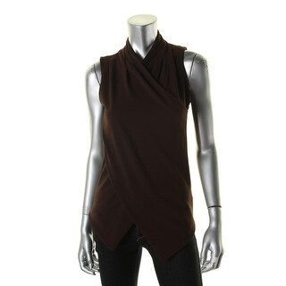 Lauren Ralph Lauren Womens Tank Top Knit Wrap