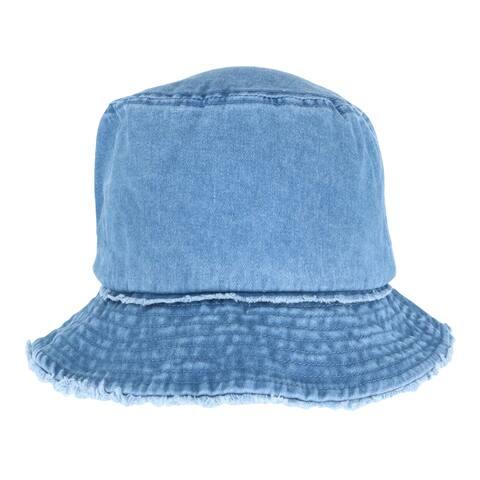 David & Young Women's Denim Bucket Hat