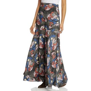 Free People Womens Casual Dress Chiffon Printed - 2