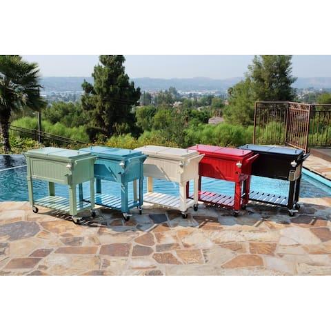 Permasteel 80 Qt. Furniture Style Patio Cooler
