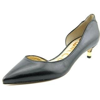 Sam Edelman Linda   Pointed Toe Synthetic  Heels