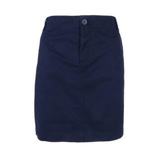 Tommy Hilfiger Women's Chino Mini Skirt