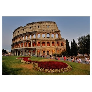 """""""Colosseo Colosseum in Rome, Italy"""" Poster Print"""