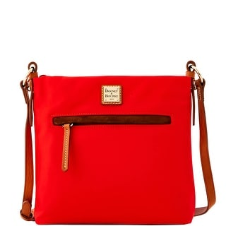 Dooney & Bourke Windham Daisy Letter Carrier (Introduced by Dooney & Bourke at $138 in Jul 2016) - Red