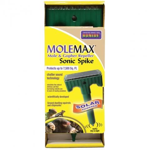 Bonide 61119 Molemax Mole & Gopher Sonic Spike Repellers - Solar