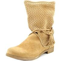 Coolway Nila Women  Round Toe Suede  Mid Calf Boot