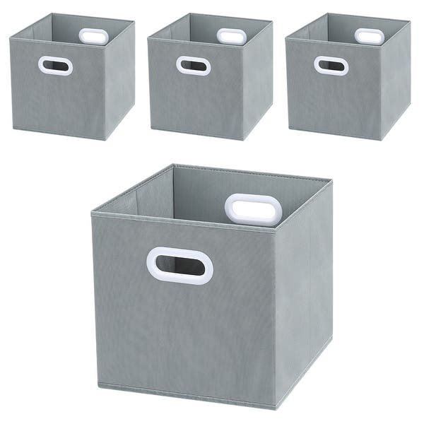 Shop LANGRIA 4 Packs Foldable Cube Storage Bins with Dual